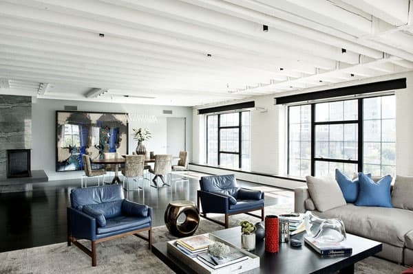 featured posts image for Stunning modern loft with pops of color in TriBeCa
