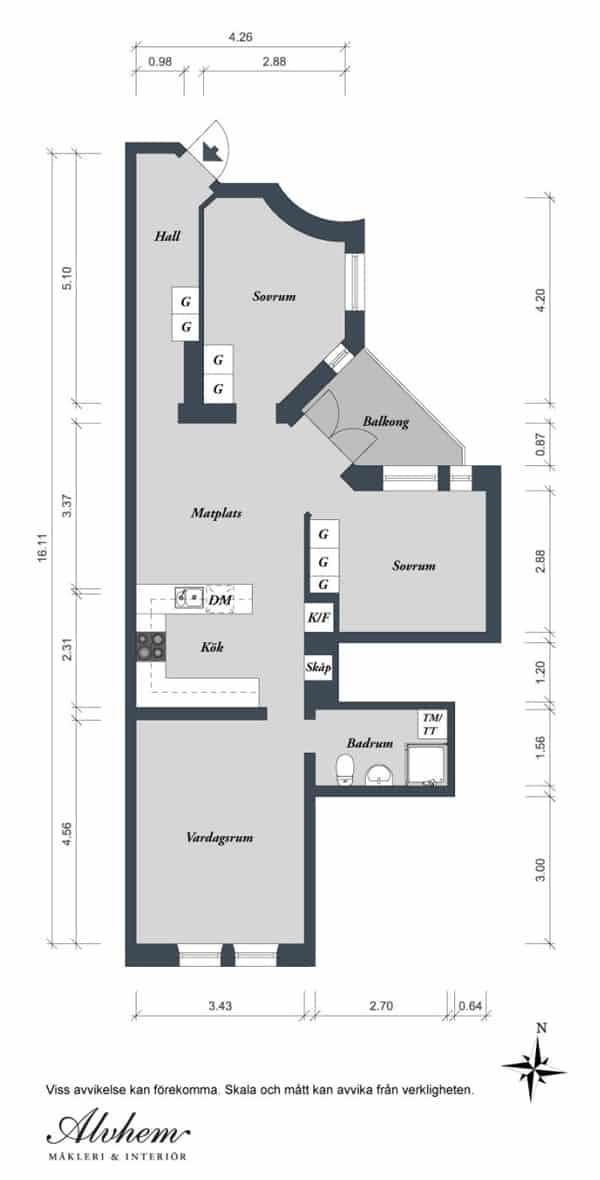 Linnestaden Apartment-32-1 Kindesign