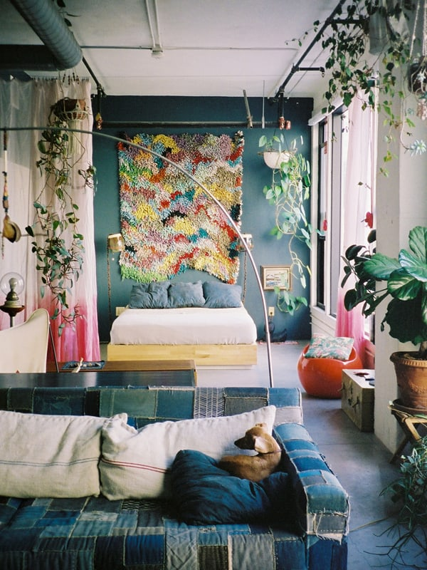 featured posts image for Chic DIY-inspired loft home in Los Angeles