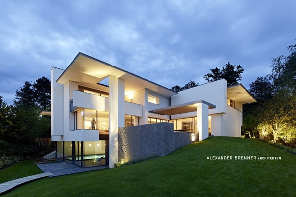 featured posts image for Contemporary German villa surrounded by forest