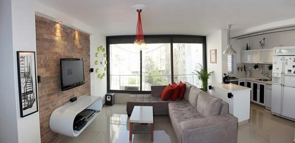 Tel Aviv Apartment-01-1 Kindesign