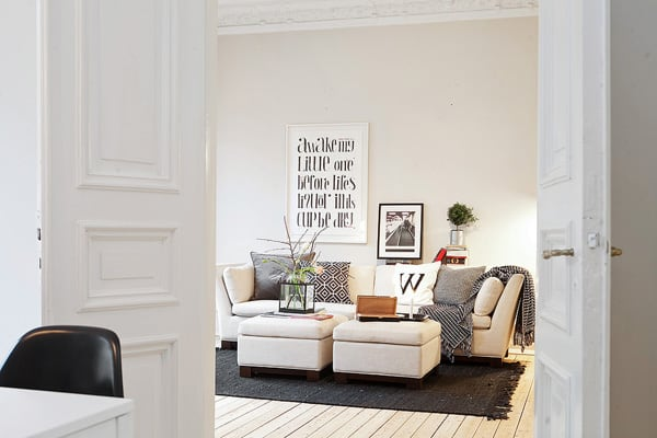 featured posts image for Charming Swedish digs boasts unique design details