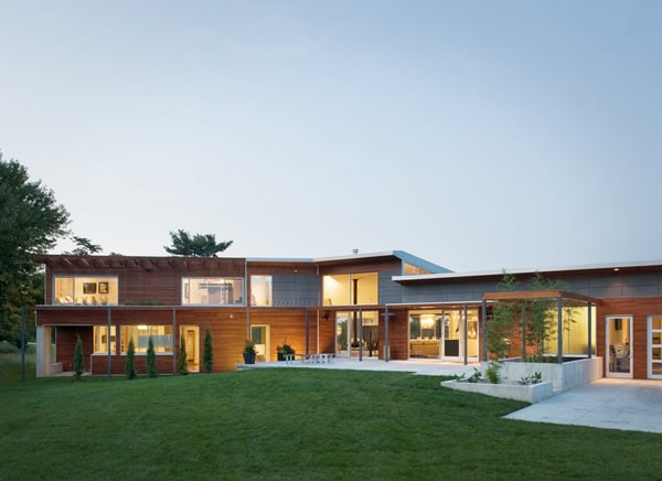 featured posts image for Bent + Sliced Residence in Missouri by Hufft Projects
