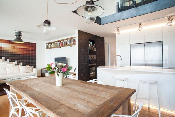 featured posts image for Amazing redesign of an industrial loft in Prague