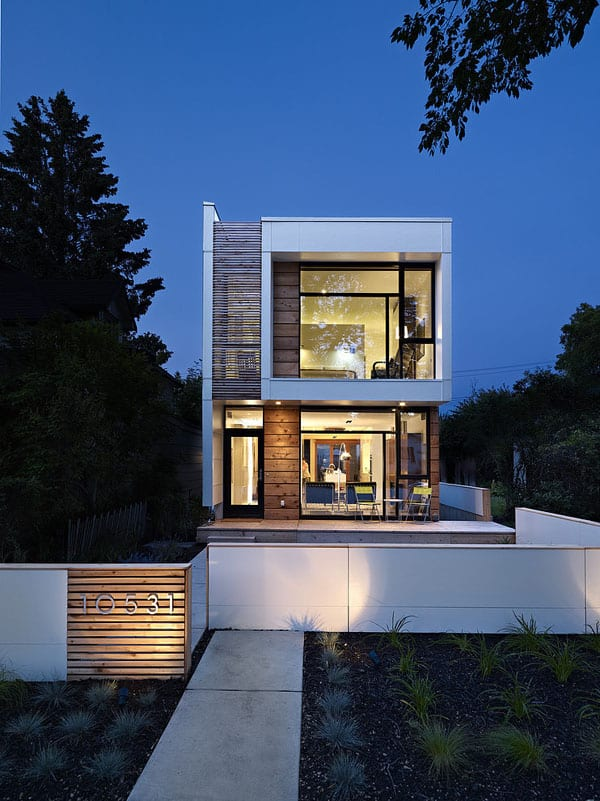 featured posts image for Unique modernist design in Edmonton: LG House