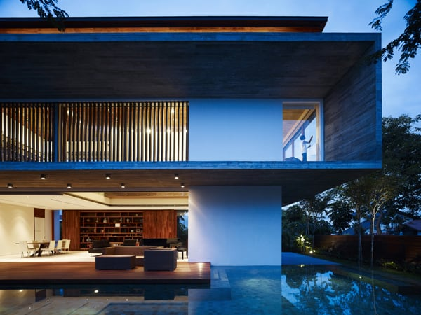 featured posts image for Haven nestled in tropical Singapore: M-House