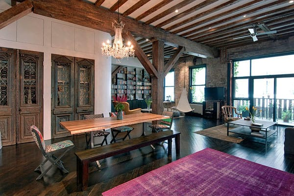 featured posts image for Magnificent loft renovation incorporating Feng Shui