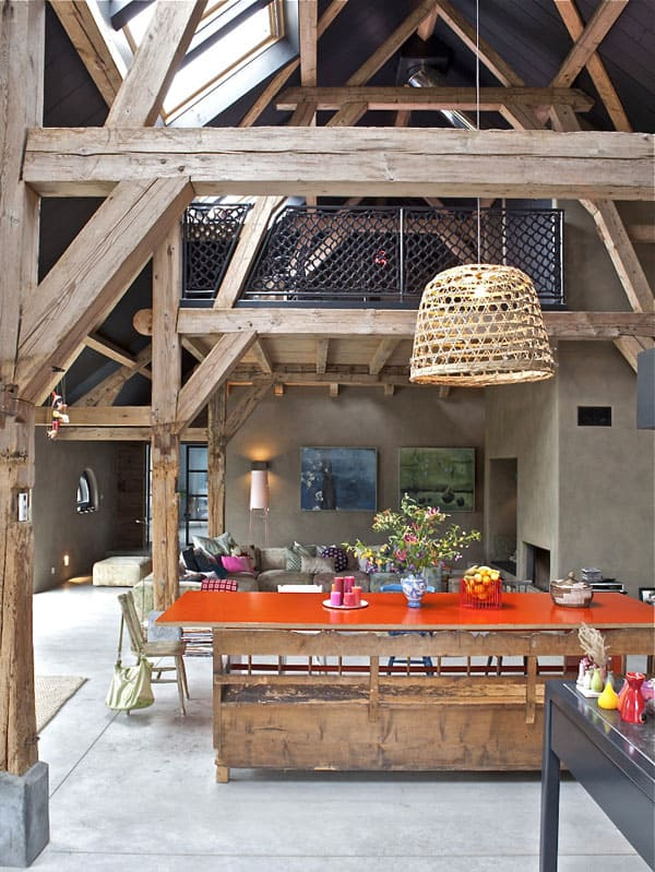 featured posts image for Impressive salvaged farmhouse in The Netherlands