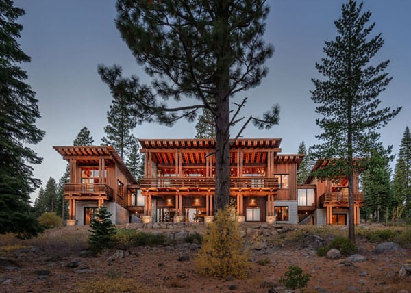 featured posts image for Rustic-Modern Bridge House in Martis Camp Tahoe