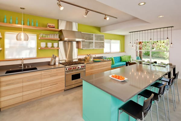 featured posts image for 31 Bright and colorful kitchen design inspirations