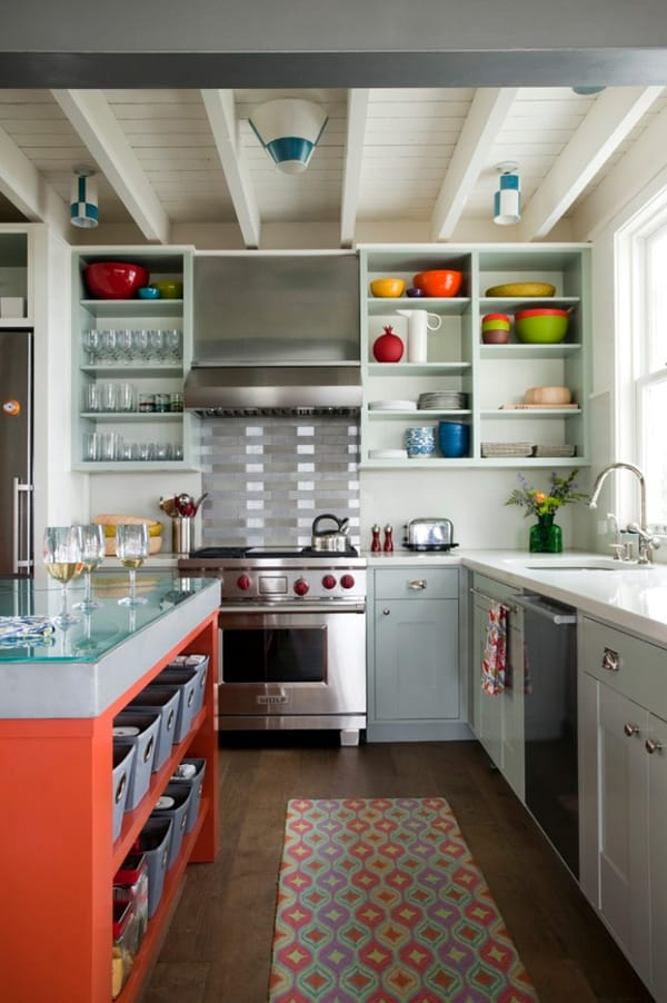 Colorful Kitchen-13-1 Kindesign