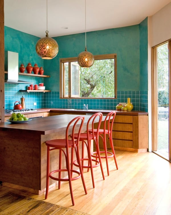 Colorful Kitchen-21-1 Kindesign