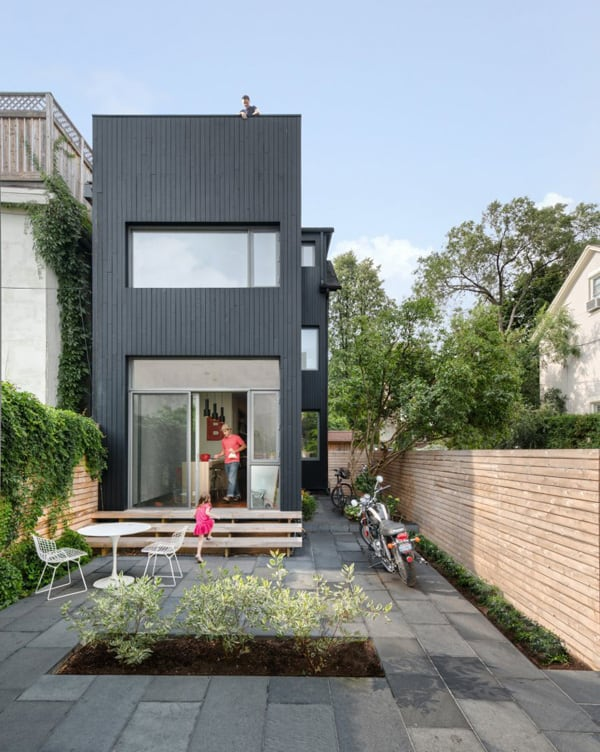 featured posts image for Intriguing renovation in Toronto: Contrast House