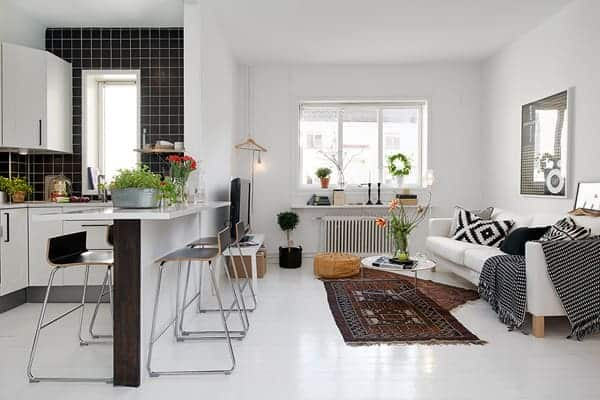 featured posts image for Charming 41 square meters apartment in Stockholm