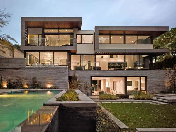 featured posts image for Sumptuous Toronto Residence with inspiring details