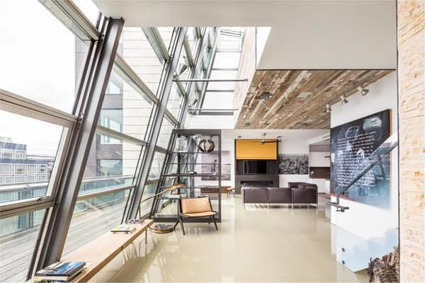 featured posts image for Greenwich Street Penthouse with NY skyline views