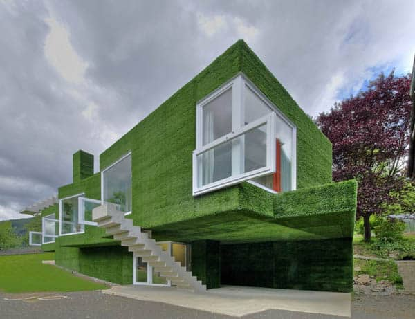 featured posts image for Dwelling covered with synthetic grass in Frohnleiten