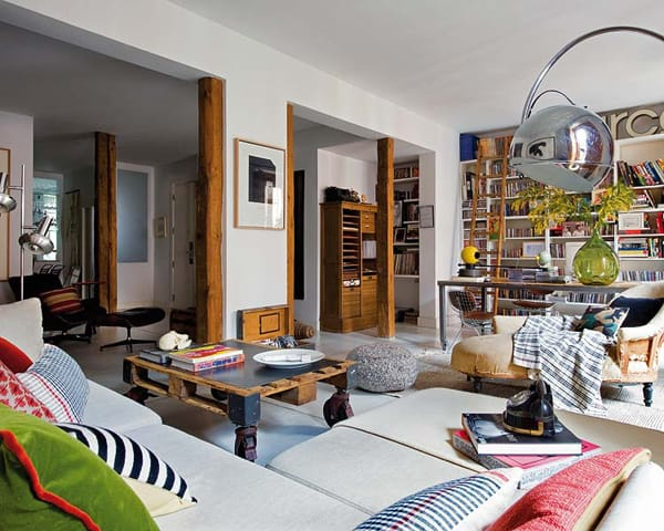 featured posts image for Bohemian-chic flat deliciously transformed in Malasaña