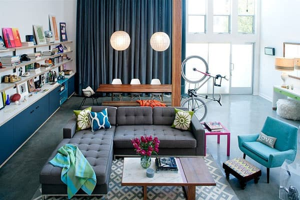 featured posts image for Eclectic industrial-modern loft in Marina Del Rey