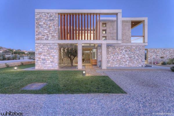 Stone House in Anavissos-04-1 Kindesign