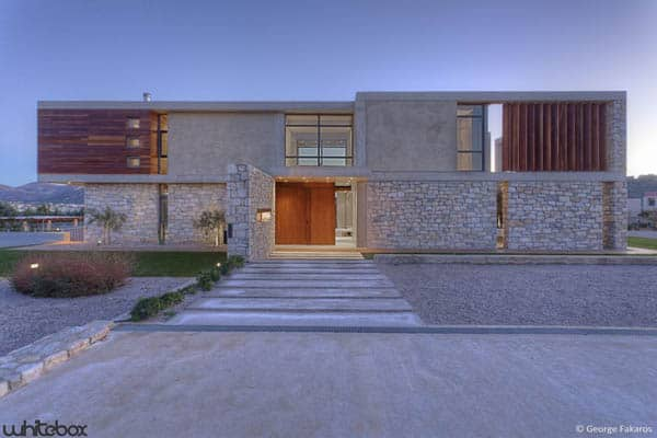 Stone House in Anavissos-05-1 Kindesign
