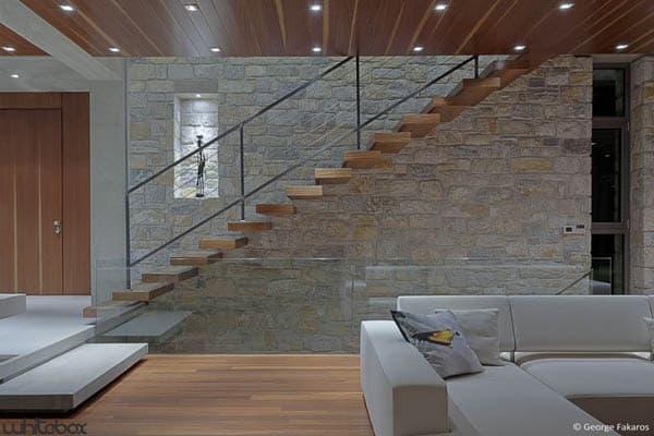 Stone House in Anavissos-19-1 Kindesign