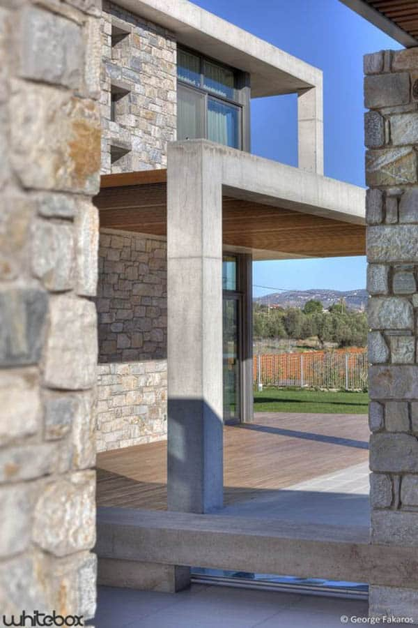 Stone House in Anavissos-35-1 Kindesign