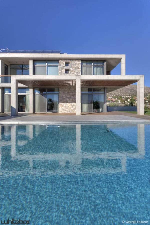 Stone House in Anavissos-39-1 Kindesign