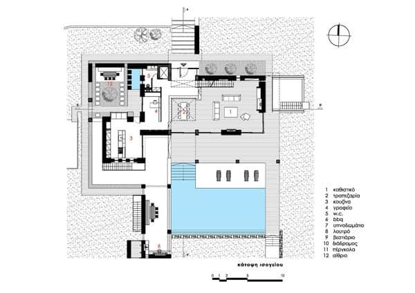 Stone House in Anavissos-44-1 Kindesign