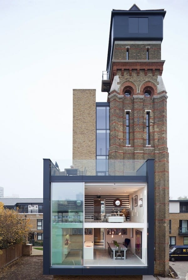 featured posts image for Incredible conversion of Venetian style water tower