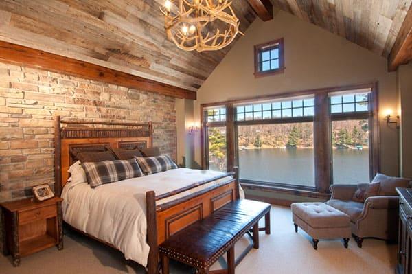 View in gallery Barn-style sliding door for the walk-in closet [Design:  Jute Interior