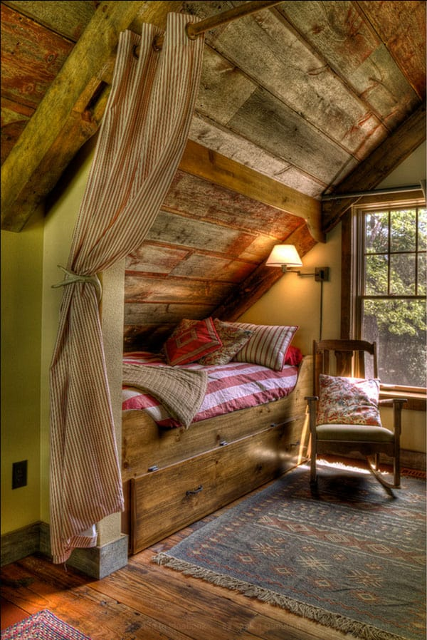 Barn Bedroom Design Ideas-11-1 Kindesign