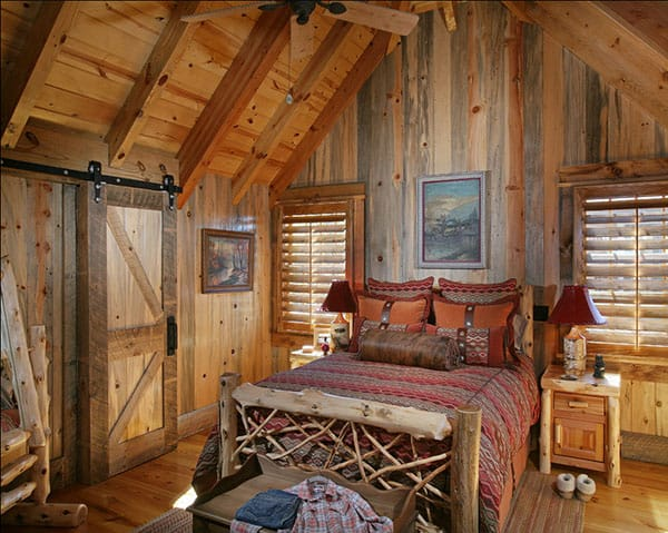 Barn Bedroom Design Ideas-14-1 Kindesign