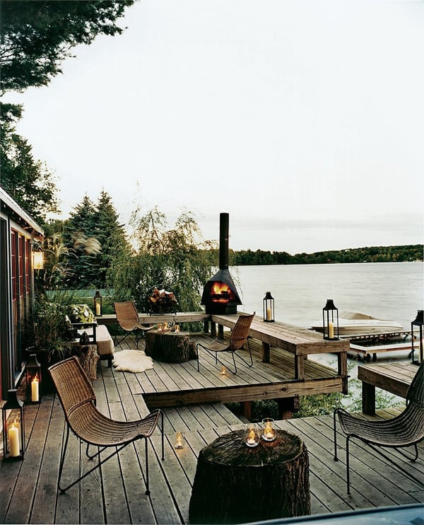 featured posts image for Woodsy lake front cabin in upstate New York