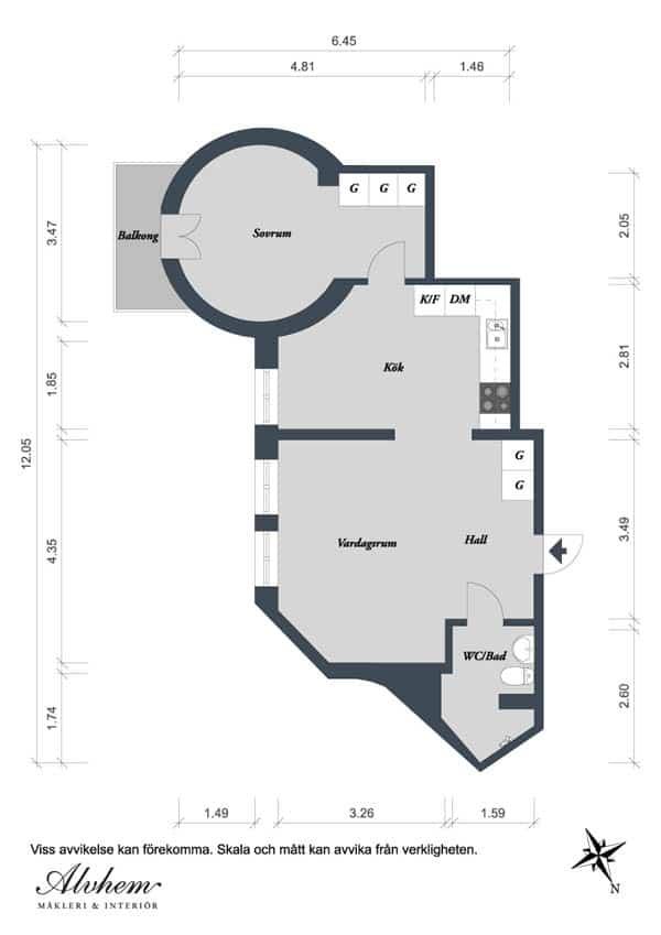 Linnestaden Apartment-28-1 Kindesign