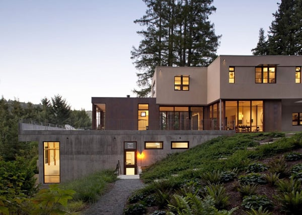 featured posts image for Spectacular multi-tiered Mill Valley Residence
