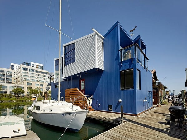featured posts image for Contemporary floating house in San Francisco