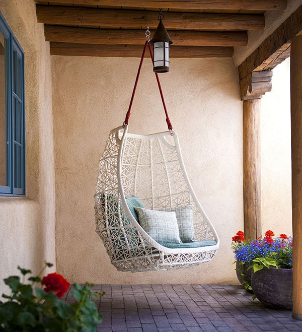 featured posts image for Refreshing adobe residence in New Mexico