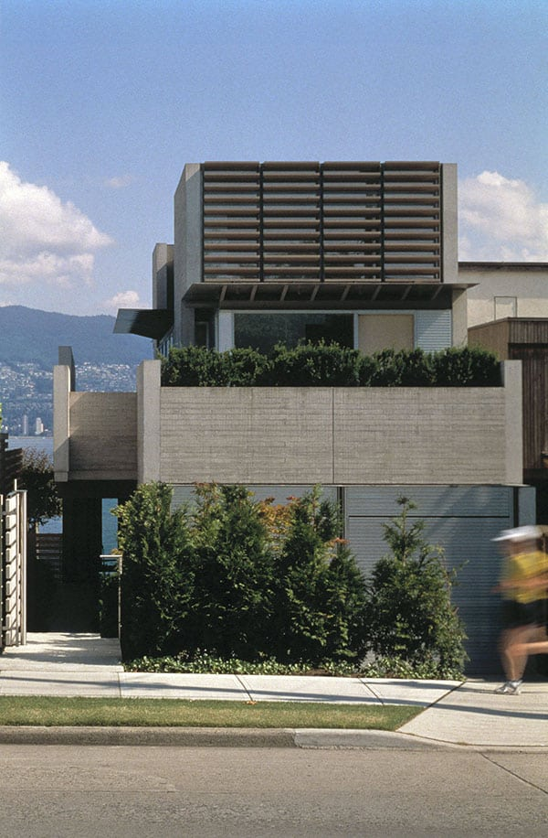 Shaw house with incredible lap pool in vancouver for Pool design vancouver