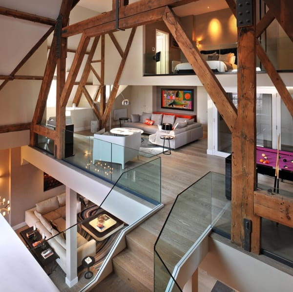 featured posts image for Beautifully transformed St Pancras penthouse apartment