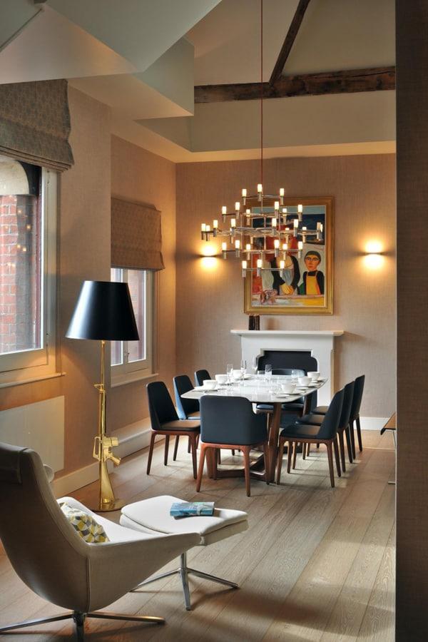 St Pancras Penthouse Apartment-03-1 Kindesign