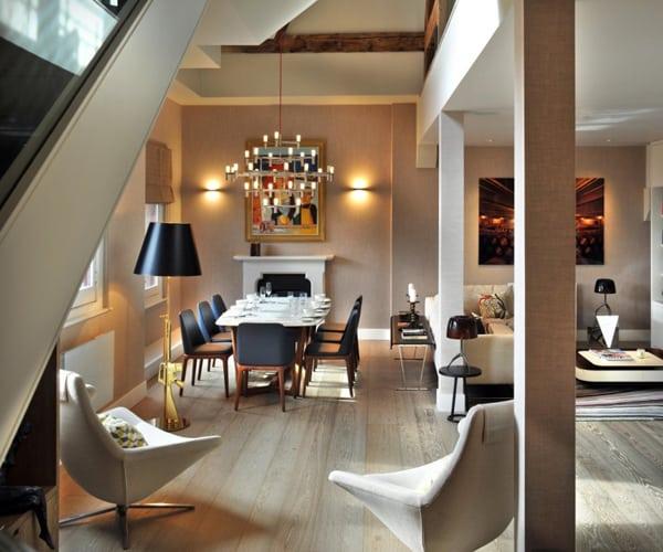 St Pancras Penthouse Apartment-04-1 Kindesign