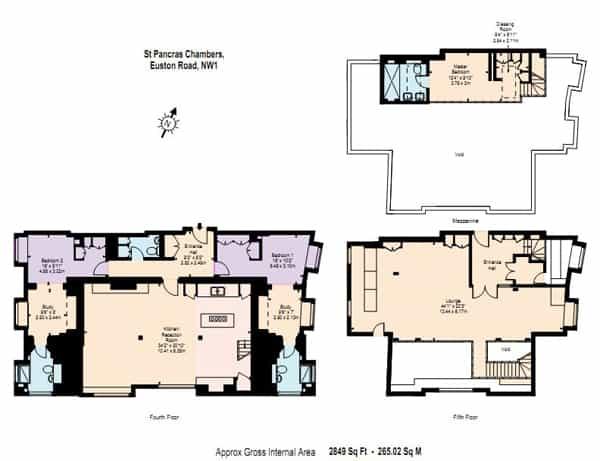 St Pancras Penthouse Apartment-27-1 Kindesign