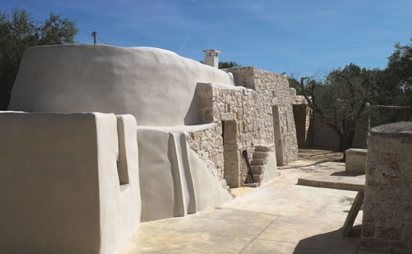 featured posts image for Renovation and expansion of a trullo in Italy