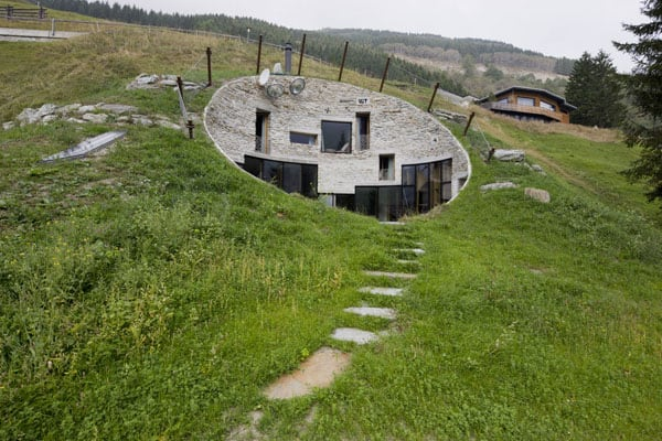 featured posts image for Hobbit home hidden in the hillside of Switzerland