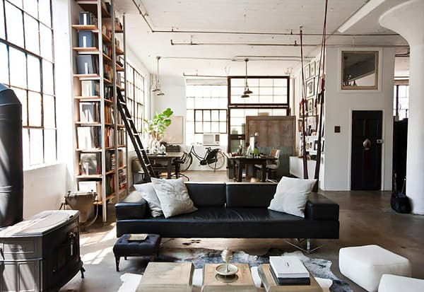 featured posts image for Industrial eclectic Brooklyn loft of Alina Preciado