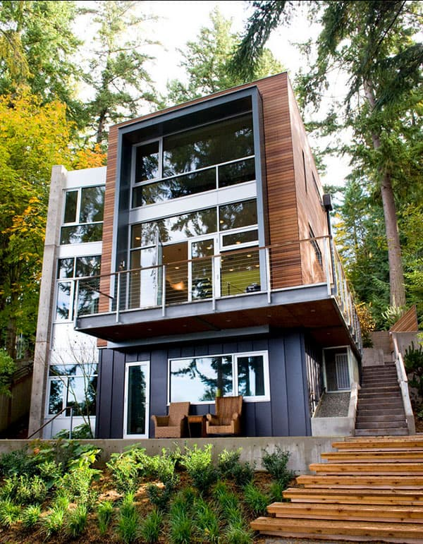 featured posts image for Spectacular Dorsey Residence on Bainbridge Island