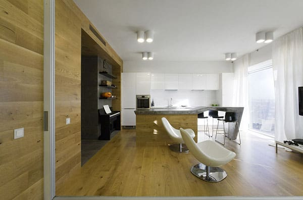featured posts image for Modern apartment design in Russia by Za Bor Architects