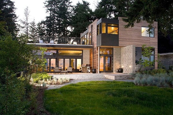 featured posts image for Sustainable home with modern design aesthetic