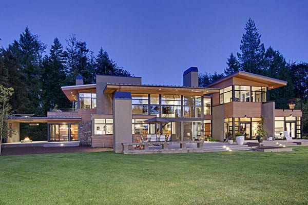 featured posts image for Contemporary house in Seattle surrounded by forest